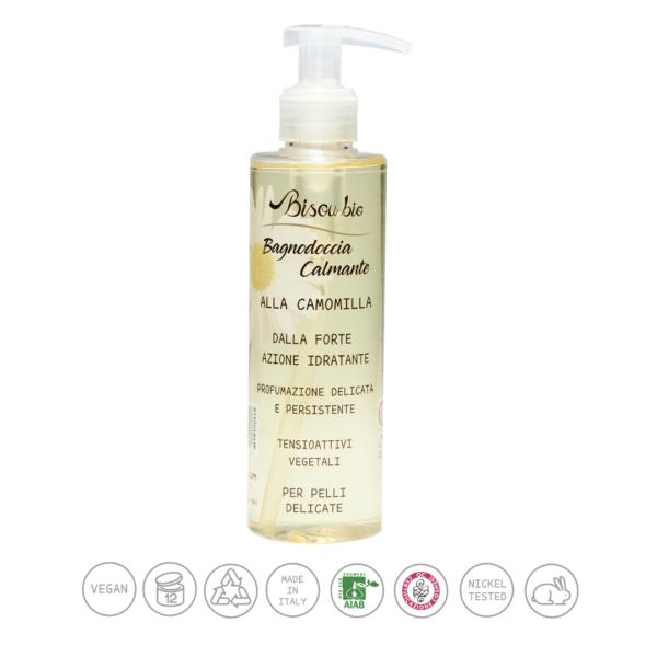 Bio bagno doccia alla camomilla – calmante per pelli delicate