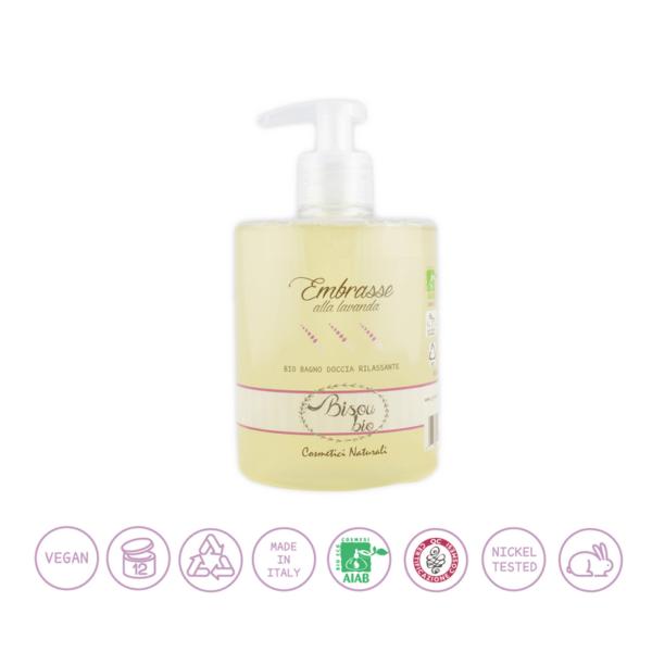 Bio bagno doccia alla lavanda – rilassante per pelli sensibili 500 ml