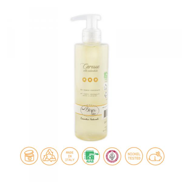 Bio shampoo alla calendula – rinforzante per capelli secchi 250 ml