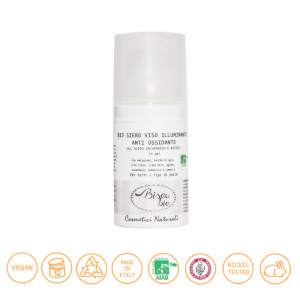 Bio siero viso illuminante anti ossidante anti